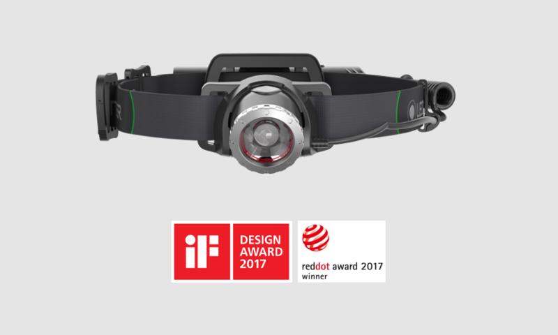 Ledlenser MH10 Nagroda RedDot 2017 oraz nagroda Gold Award 2017