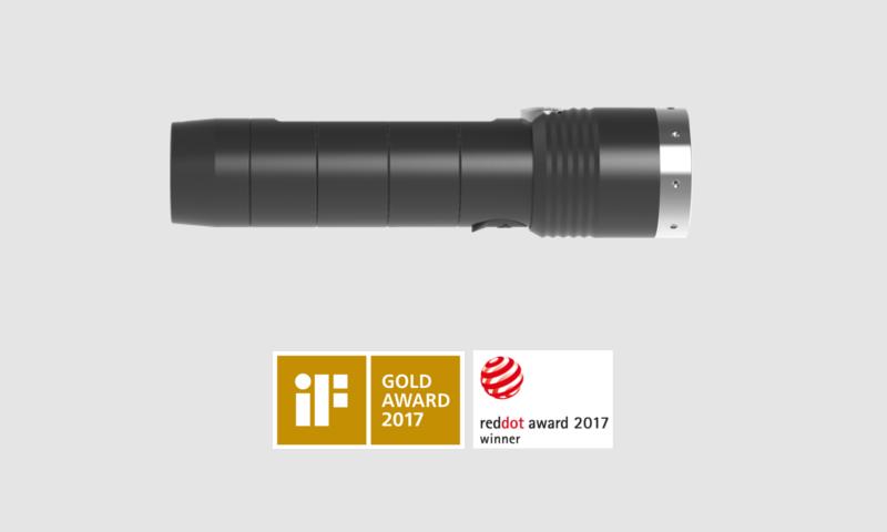 Ledlenser MT10 Nagroda RedDot 2017 oraz nagroda Gold Award 2017