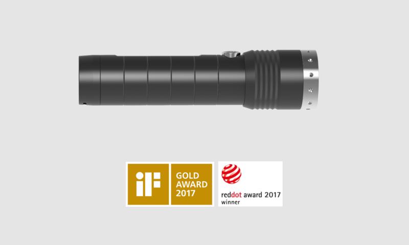 Ledlenser MT14 Nagroda RedDot 2017 oraz nagroda Gold Award 2017
