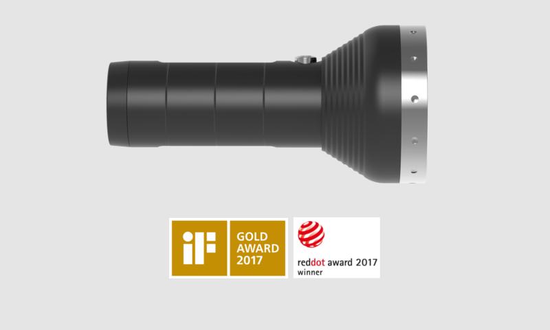 Ledlenser MT18 Nagroda RedDot 2017 oraz nagroda Gold Award 2017