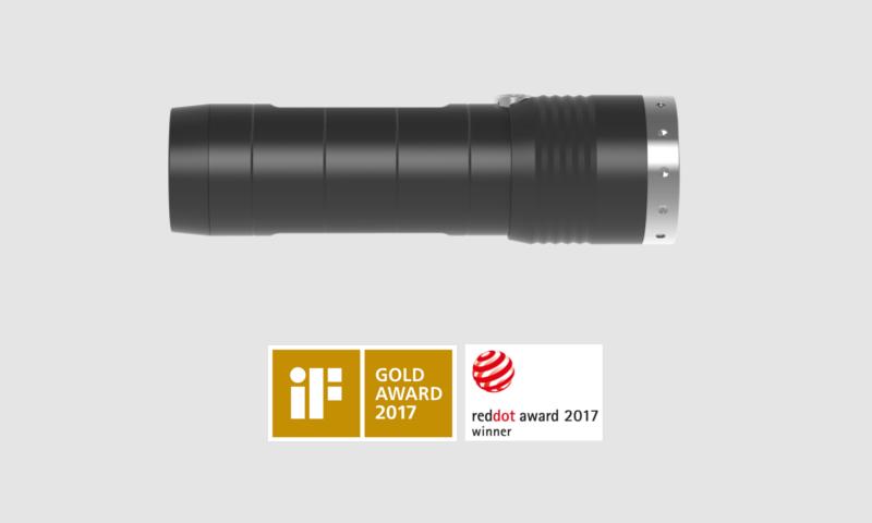 Ledlenser MT6 Nagroda RedDot 2017 oraz nagroda Gold Award 2017